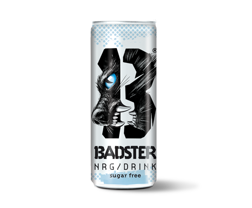 Badster Energy Drink - Sugar Free